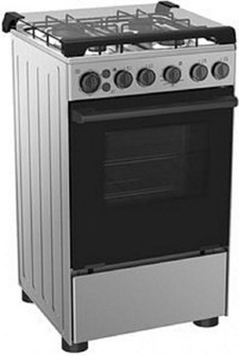 Midea 4-Burner Gas Cooker 20BMG4G007-S, with Oven & Grill