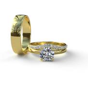 Gold Complete Wedding Set - 01BS35