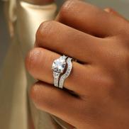 Sterling Silver Bridal Set - 08AS54