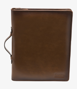 Loake Exchange business organiser leather bag - Brown
