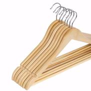 Hangers - Wooden x10