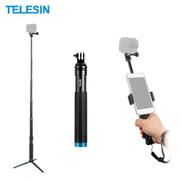 TELESIN Handheld Extendable Selfie Stick Monopod Aluminum