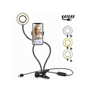 Selfie Ringlight Stand With Phone Holder