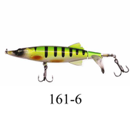 Pike Fishing Lures 16g 13cm Topwater Tail Hook Fishing Bait