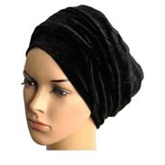 Velvet Turban- Black