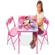 Disney Minnie Mouse Activities Table & Chair Set