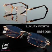 Luxury Diamond Cutted Commercial Reading Glasses +0.75 To +3