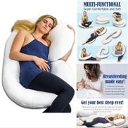C Shaped Full Body Pregnancy Pillow