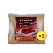 Saranna Global Local Ofada Rice - 2kg X 3bags