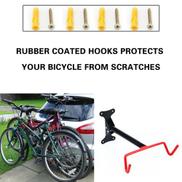 Bicycle Steel Holder Rack Stand Garage Wall Mount Storage Hook Hanger