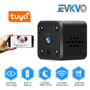 Hidden Battery Power Night Vision Audio Reord Wireless WIFI Mini CCTV IP Camera Tuya Smart Life
