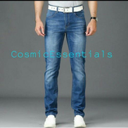 Smart STOCK Jeans For Men - Light Blue