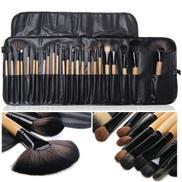 24 Pieces Professional Kabuki Makeup Brush Set BIG SIZE