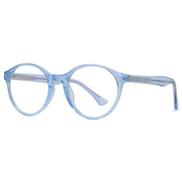 Womens Blue Light Blocking Computer Glasses Round Eyeglasses