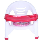Generic Baby Chair With Attached Table Top - Pink Blue Chair And Table Set...