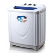 Qasa 8.2kg Semi-Automatic Double Tub Washing Machine QWM-142DTBX