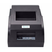 XPrinter High Speed 58mm Thermal PoS Printer - Black