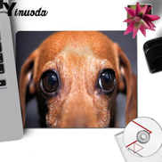 Yinuoda Top Quality Dog Eyes Rubber Mouse Durable Desktop Mousepad Anime Pattern Soft Accessories Gaming Mouse Pad Deak Mat