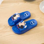 Kids Cartoon Character Casual Bathroom Slippers Blue