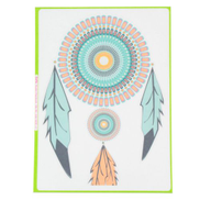 Indian's Feather Vinyl Sticker Skin Decal Cover For Apple Macbook Air Pro New