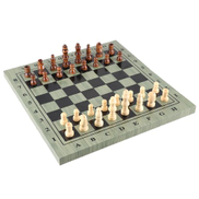 International Chess Set Portable Wooden Chessboard Chess