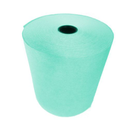 76mm Wet Strength Laundry & Dry Cleaning Paper Roll - Green