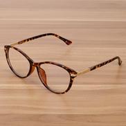 Retro Eyeglasses Optical Frames Clear Lens Glasses Black Transparent Oval Cat Eye Glasses Eyewear Frames Spectacle Women Men