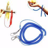 Parrot Bird Lead Leash Kit Anti-bite Flying Training Rope For Atiel Budgie