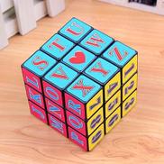 Cube 3x3 PLUS Alpha-Numeric - Multicoloured