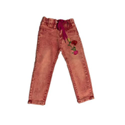 Girls Faded Fashion Jeans