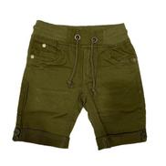 Boys Army Green Jeans Short