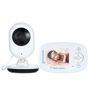 2.4 Inches Color LCD Wireless Digital Video Baby Monitor