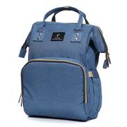 Pofunuo Waterproof Baby Diaper Nappy Mummy Bag Backpack Outdoor USB Interface