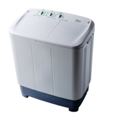 Midea P1001S 6KG Twin Tub Semi Automatic Washing Machine MTA60
