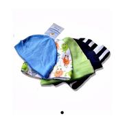 Luvable Friends 5-Piece Baby Boys Caps - Multicolour