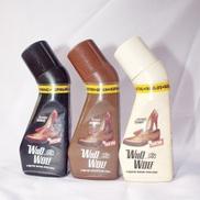 Wild Wolf Shine Shoe Liquid Polish 3 In 1 - Neutral,Brown,Black