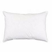 Universal Bed Pillow For Sleeping White, Off White, Cream Fibre Pillow