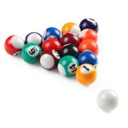25MM 38MM Children Billiards Table Balls Set Resin Small