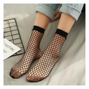 2 Pairs Fashion Women Sexy Beautiful Net Socks - Black