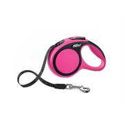 Flexi New Comfort Retractable Tape Dog Leash Pink 26 Foot