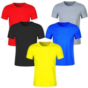 5 In 1 Quality Classic Round Neck Plain T-Shirts