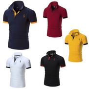 5-piece Polo Shirt For Men