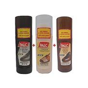 Palc 3 Colour In 1 Liquid Leather Shoe Polish - Black, Brown & Neutral