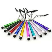 10 PCS Universal Crystal Retractable Stylus Pens Touch Pen
