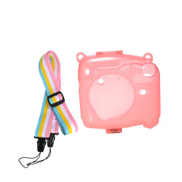 Lovely Camera Silicone Case Waterproof MINI8 Fluorescent