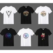 6-in-1 Men's Round Neck Short T-Shirt Bundle- Multicolour