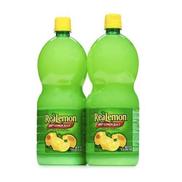 Realemon 100 Lemon Juice -2PCS 1.4litre