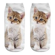 Super Soft Cute Casual Cotton Socks 3D Printing Medium Socks Cartoon Socks Sports Socks