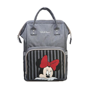 Disney USB Diaper Bag Care Mummy Backpack Maternal