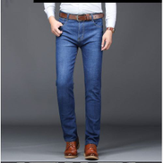 Men's Jeans Slimming Spring And Summer Elastic Leisure Pants